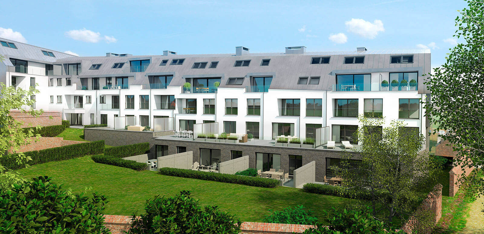Robert Lariellestraat - Brusselsesteenweg,  Halle